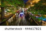 view along the famous river... | Shutterstock . vector #444617821