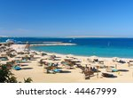 reefs on red sea beach resort... | Shutterstock . vector #44467999