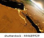 Egypt With Surrounding Region...