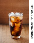 aerated soft drink on wooden... | Shutterstock . vector #444705331