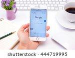 bangkok  thailand   june 29 ... | Shutterstock . vector #444719995