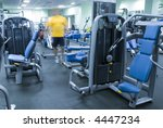 man in fitness club | Shutterstock . vector #4447234