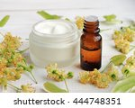 Jar Of White Cosmetic Facial...