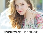 beautiful woman | Shutterstock . vector #444783781