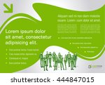 template design with business...   Shutterstock .eps vector #444847015
