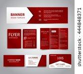 banner  flyers  brochure... | Shutterstock .eps vector #444848371