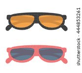 sunglasses  | Shutterstock .eps vector #444853261