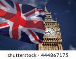British Union Jack Flag And Bi...