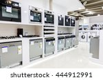 gas and electric ovens and... | Shutterstock . vector #444912991