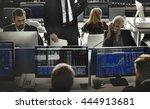 business team investment... | Shutterstock . vector #444913681