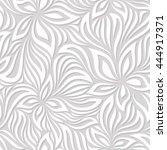 vector seamless pattern. modern ... | Shutterstock .eps vector #444917371