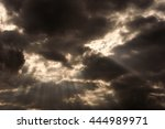 cloud and sunlight on background | Shutterstock . vector #444989971
