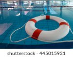 A Red And White Lifebuoy  Kisby ...