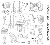 Music Icon Set Vector...