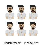stock vector illustration set...   Shutterstock .eps vector #445051729