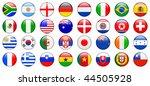 2010 world cup team flag... | Shutterstock .eps vector #44505928