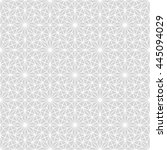 seamless geometric pattern.... | Shutterstock .eps vector #445094029