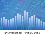 abstract finance background.... | Shutterstock . vector #445101451