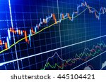 stock market and other finance...   Shutterstock . vector #445104421