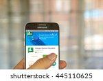 montreal  canada   june 23 ... | Shutterstock . vector #445110625