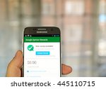 montreal  canada   june 23 ... | Shutterstock . vector #445110715