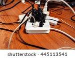 overload active power... | Shutterstock . vector #445113541