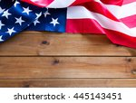 american independence day ... | Shutterstock . vector #445143451
