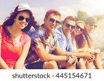 friendship  leisure  summer and ... | Shutterstock . vector #445154671