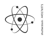 atom icon | Shutterstock .eps vector #445176571