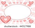 i love you card   vector...   Shutterstock .eps vector #44517988