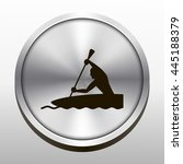 rower icon. rower sign | Shutterstock .eps vector #445188379