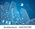 Business Building  Neon City ...