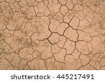 Dry And Cracked Ground Texture