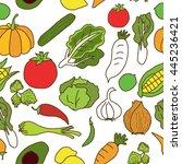 illustration hand drawn... | Shutterstock .eps vector #445236421
