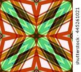 seamless texture  abstract... | Shutterstock .eps vector #445261021