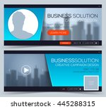 web banner  header layout... | Shutterstock .eps vector #445288315