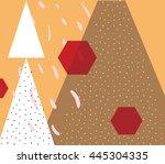 abstract pattern. design... | Shutterstock .eps vector #445304335
