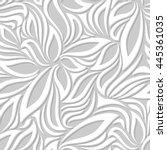 vector seamless pattern. modern ... | Shutterstock .eps vector #445361035