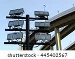 light that shine at night | Shutterstock . vector #445402567