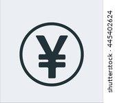 Coin Icon  Yen Icon Sign Icon...
