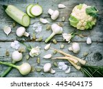 White Vegetables  Fruits And...