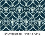Vintage floral ornament pattern. Vector abstract ornament pattern