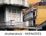 old building in bangkok | Shutterstock . vector #445463551
