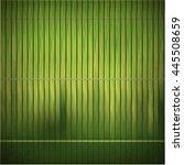 wood bamboo mat texture... | Shutterstock .eps vector #445508659