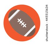 rugby ball vector icon | Shutterstock .eps vector #445515634
