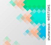 abstract polygonal vector... | Shutterstock .eps vector #445571041