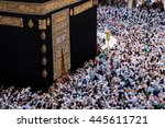 mecca  saudi arabia   march 24  ... | Shutterstock . vector #445611721