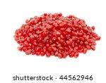 some pomegranate berries... | Shutterstock . vector #44562946