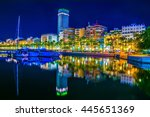 Night View Of The Marina Of...