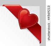 valentine days vector... | Shutterstock .eps vector #44569213
